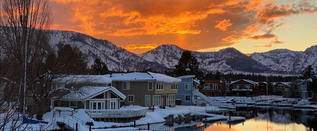 Tahoe Keys Sunset